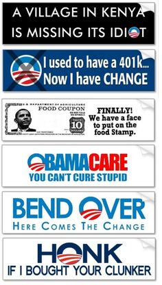 The many signs of Obama