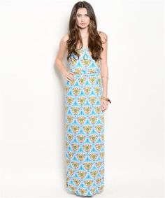 Live In The Moment Maxi Dress