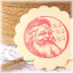 Santa Embellishments Scrapbooking and by SweetlyScrappedArt