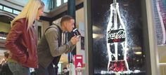 "Coca Cola Creates First Ever ""Drinkable"" Advertising Campaign  #cocacola #cocacolaad"