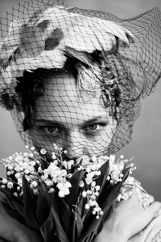 Sasha Pivovarova photographed by Arthur Elgort, Vogue, June 2009.