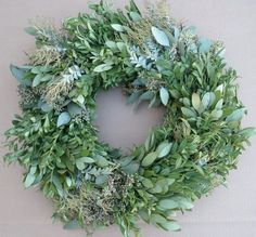 Wonderfully Fragrant and Fresh Eucalyptus Wreath