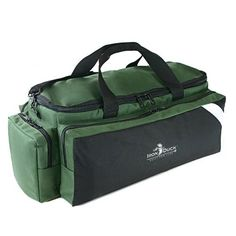 Iron Duck 34016DG Breath Saver Airway Management System Bag for Class D or Jumbo D Oxygen Tank with Ergonomic Adjustable Shoulder and Hand Straps Nylon GreenMade in the USA -- Click on the image for additional details. This is an Amazon Affiliate links.