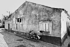 Fotografie cursus week Algarve met Hans van der Mast. Santa Catarina da Fonte do Bispo, traditioneel Portugees dorp. Werken met licht en zwart-wit fotografie.