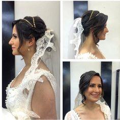 Noivas sempre emocionam!  O penteado foi feito pela Taylla Belarmina @tayllabelarmina aqui no Circus Pamplona! #bride #wedding #circuspamplona