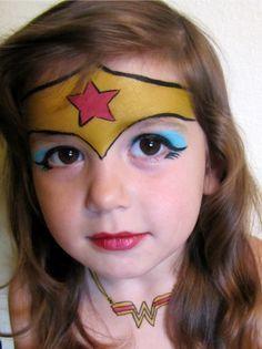 Maquillage enfant Wonder Woman