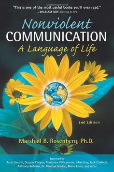 Book Review: Nonviolent Communication by Marshall B. Rosenberg | Soma  https://somaholistichealth.wordpress.com/2015/09/30/book-review-nonviolent-communication-by-marshall-b-rosenberg/