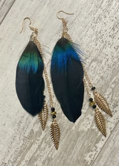 bohemian soutache earrings with leopard jasper stone long black drop earrings gray boho jewelry wrapped gift