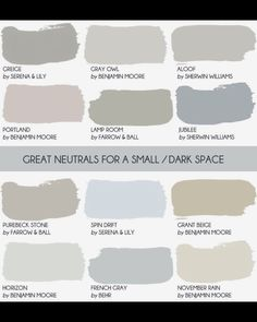 Paint Colors For Dark Rooms basement color palette. great color palette for basement