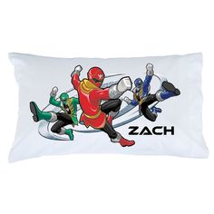 Power Rangers Super Mega Mode Pillowcase - Bedding & Blankets - Decor | Ty's Toy Box