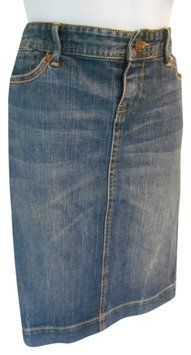 Banana Republic Denim Jean Classic 2 02 P Small Xs S Skirt $22 with FREE SHIPPING.    Closet of Laurie B.   Great items under $25 with FREE SHIPPING