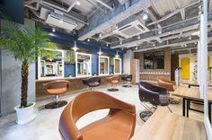 Oasis akabane / tokyo 美容室(サロン)の設計・内装・デザイン