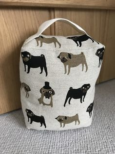 Shop for beautiful hand made fabric doorstops from Amy Joanne Interiors in gorgeous fabrics from Peony & Sage, Emily Bond and RawXclusive. Browse or Buy now! Emily Bond, Doorstop, Gorgeous Fabrics, Uk Shop, Beautiful Hands, Pugs, Home Accessories, Handmade, Shopping