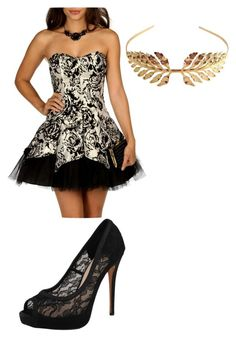 this is my outfit for prom by jordanfashion14 on Polyvore featuring polyvore, fashion, style, Masquerade, Vince Camuto and Tuleste