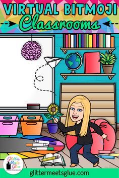 Have you bit the virtual Bitmoji classroom craze? Pop on over to learn some tips & tricks on how to get started, find inspiration on making your own, too! Teaching Technology, Educational Technology, Google Classroom, Classroom Ideas, Classroom Layout, Classroom Design, Classroom Organization, Linux, People Reading