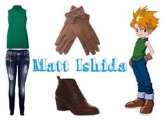Matt Ishida (Digimon) 1 by mimifan96 on Polyvore featuring polyvore, fashion, style and clothing