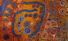 Iyawi Wikilyiri, Pukara, 2010, acrylic on canvas,122 x 199 cm. Alcaston Gallery, Melbourne. Au$ 6.5 K