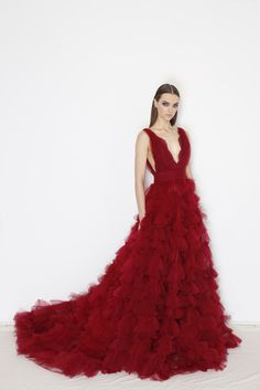 Marchesa Pre Fall 2015 [Photo by George Chinsee]