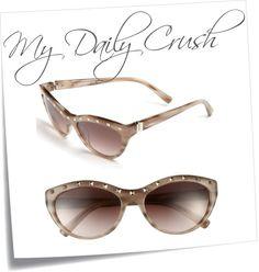 af3c897ed931d Valentino ~  Rockstud  Cat s Eye Sunglasses