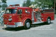 Slide is in excellent condition. Apparatus posed in bright sunlit conditions. Actual image is fine in slide mount. Chicago Fire Department, Fire Dept, Ambulance, Cool Trucks, Fire Trucks, Fire Equipment, Rescue Vehicles, Emergency Response, Fire Apparatus