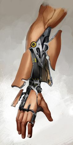"""Bruno Gauthier Leblanc's """"Talos' Augmented Arm"""" from Eidos Montreal's """"Deus Ex: Mankind Divided"""""""