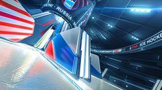 Ice Hockey U18 World Championship Opener by Andrey Sablin, via Behance