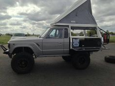 Awesome camper conversion #expedition #fj60 #ih8mud