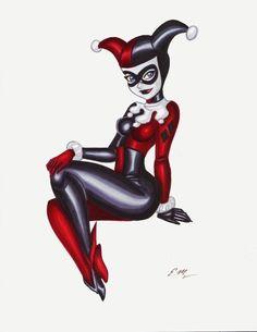 Harley by em-scribbles.deviantart.com on @deviantART