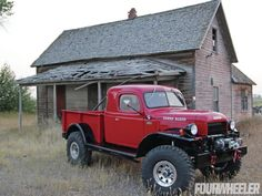 Legacy Dodge Power Wagon Extended Cab 4X4 Pickup Truck