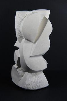 pietra-1401r.jpg - Sculpture,  12x30x16 cm ©2014 par Pascal Cavalli -                                                            Art abstrait, Pierre, Art abstrait, Fondeur de Bronze, pierre en taille directe