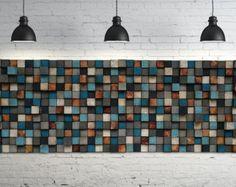 Wood Wall Art - Queen Headbord - Reclaimed Wood At