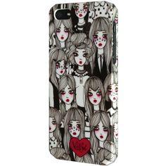 女の子アート!海外デザイン Iphone5 5sケース 海外ブランド コーデの画像 | 海外セレブ愛用 ファッション iphoneケース 5s iphone6…