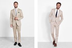 Find the right suit color for your look with our simple guide to men's wedding suits, complete with tips and inspiration for choosing wedding suits for men. Celebrity Wedding Photos, Celebrity Weddings, Wedding Men, Wedding Suits, Black Tux, Groom Outfit, Mens Suits, Celebrities, Blog