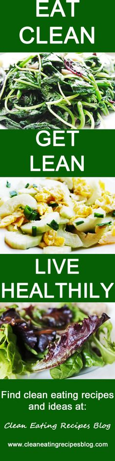 Click pin for clean eating recipes and ideas!