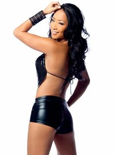 WWE Diva Gail Kim Hot Sexy Curves Exposed in Backless PicturesTAGS:Gail Kim Black Dress Hot Shoot, New Photos of Gail Kim Showing Off Her Curves, Must See New Pix of Gail Kim in High Heels and Tight Black Clothes, Divas in Backless Dress