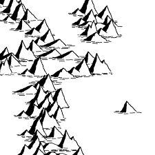 Mountain Line Drawing Mountain Drawing, Fantasy Map, Line Drawing, Mountains, Drawings, Google Search, Art, Art Background, Kunst