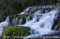 Cascada en Orbaneja del Castillo (Burgos)