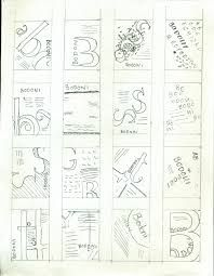 Image result for Thumbnail Sketches  of posters with words and images