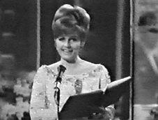 Eurovision Song Contest 1967 : presenter Erica Vaal