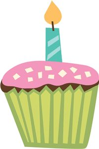 Silhouette Design Store - View Design #9302: cupcake