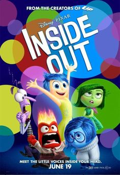 Colorful New Poster for Pixar's #InsideOut!