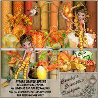 Nitara Orange Spring - Tagger Kit [CCD Nitara Orange Spring] - $1.13 : LowBudgetScrapping