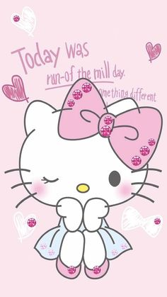 Hello Kitty Hello Kitty, Pink Aesthetic, Sanrio, Snoopy, Geography, Decals, Wallpapers, Fictional Characters, Letters