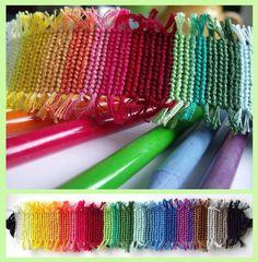 Rainbow bracelet by letax.deviantart.com on @deviantART