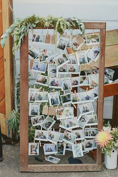 Idées de collage de photo et de dispositions pour la décoration murale Budget Diy Wedding, Dream Wedding, Wedding Signs, Trendy Wedding, Wedding At Home, Wedding Unique, Unique Wedding Reception Ideas, Cheap Wedding Ideas, Wedding Ceremony