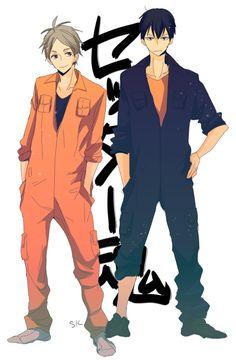 Kageyama Tobio & Sugawara Koushi (KageSuga) - Haikyuu!! / Hq!! (ハイキュー!!)