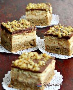 prajitura cu crema caramel lecturi si arome Romanian Desserts, Romanian Food, Poke Cakes, Lava Cakes, Delicious Deserts, Yummy Food, Cake Recipes, Dessert Recipes, Creme Caramel