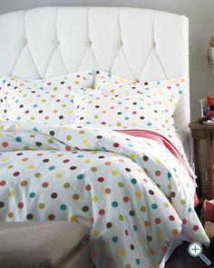 polka dot bedding