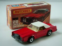 matchbox 'superfast' lincoln coupe, one of my very early ones