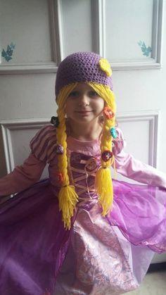 Rapunzel hat by GamerGirlCrochets on Etsy